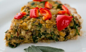 Vegan Holiday Main Dish: Mushroom Chickpea Hazelnut Tart ..