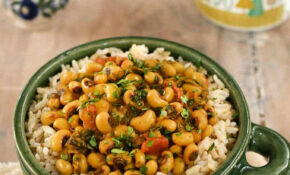 Vegan Instant Pot Black Eyed Pea Curry With Spinach – Recipes Black Eyed Peas Vegetarian