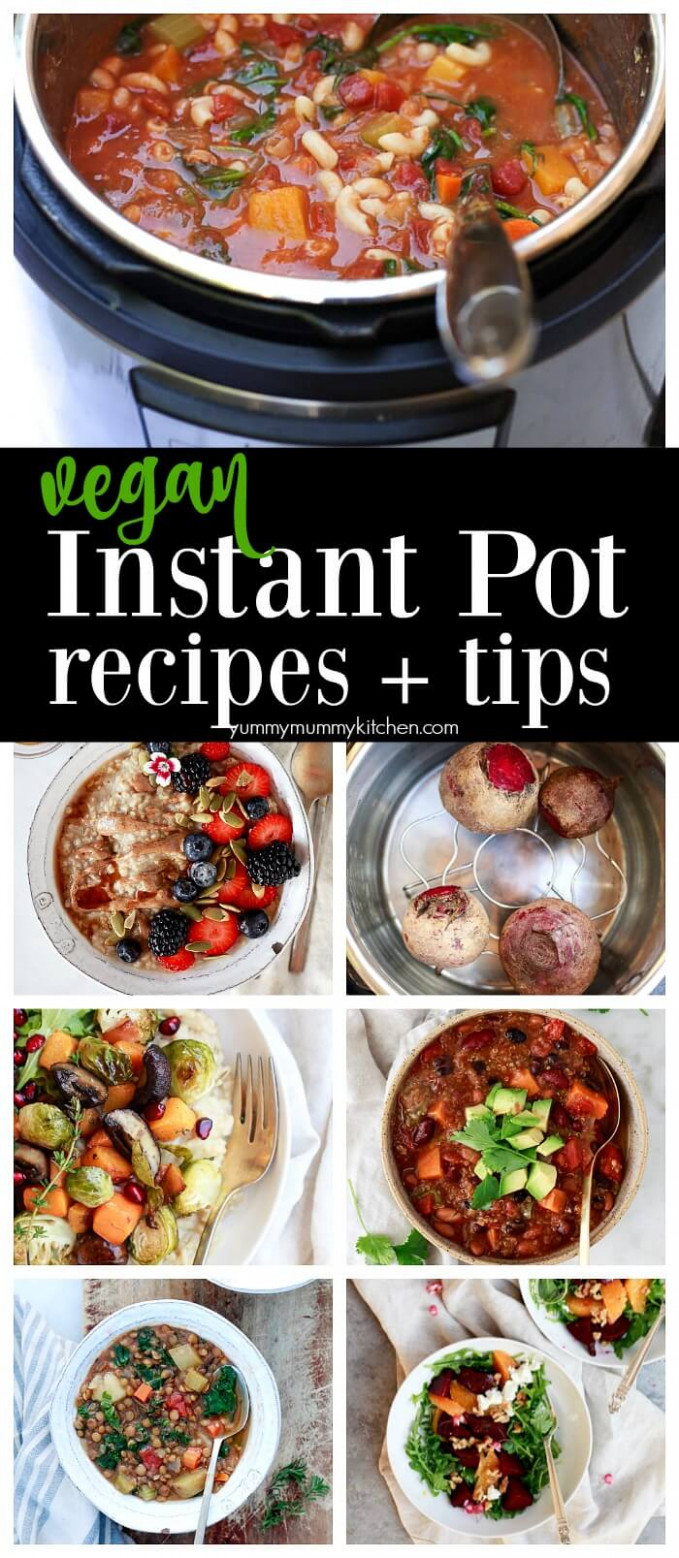 Vegan Instant Pot Recipes (Vegetarian Instant Pot Recipes) - recipes instant pot vegetarian