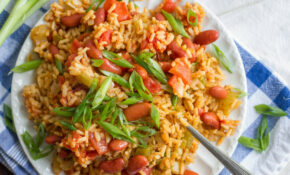 Vegan Jambalaya (Slow Cooker Or Stove Top!) – Vegetarian Recipes Jamaican