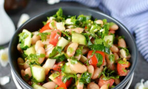 Vegan Kidney Bean Salad Cilantro And Dijon Vinaigrette – Recipes Kidney Beans Vegetarian