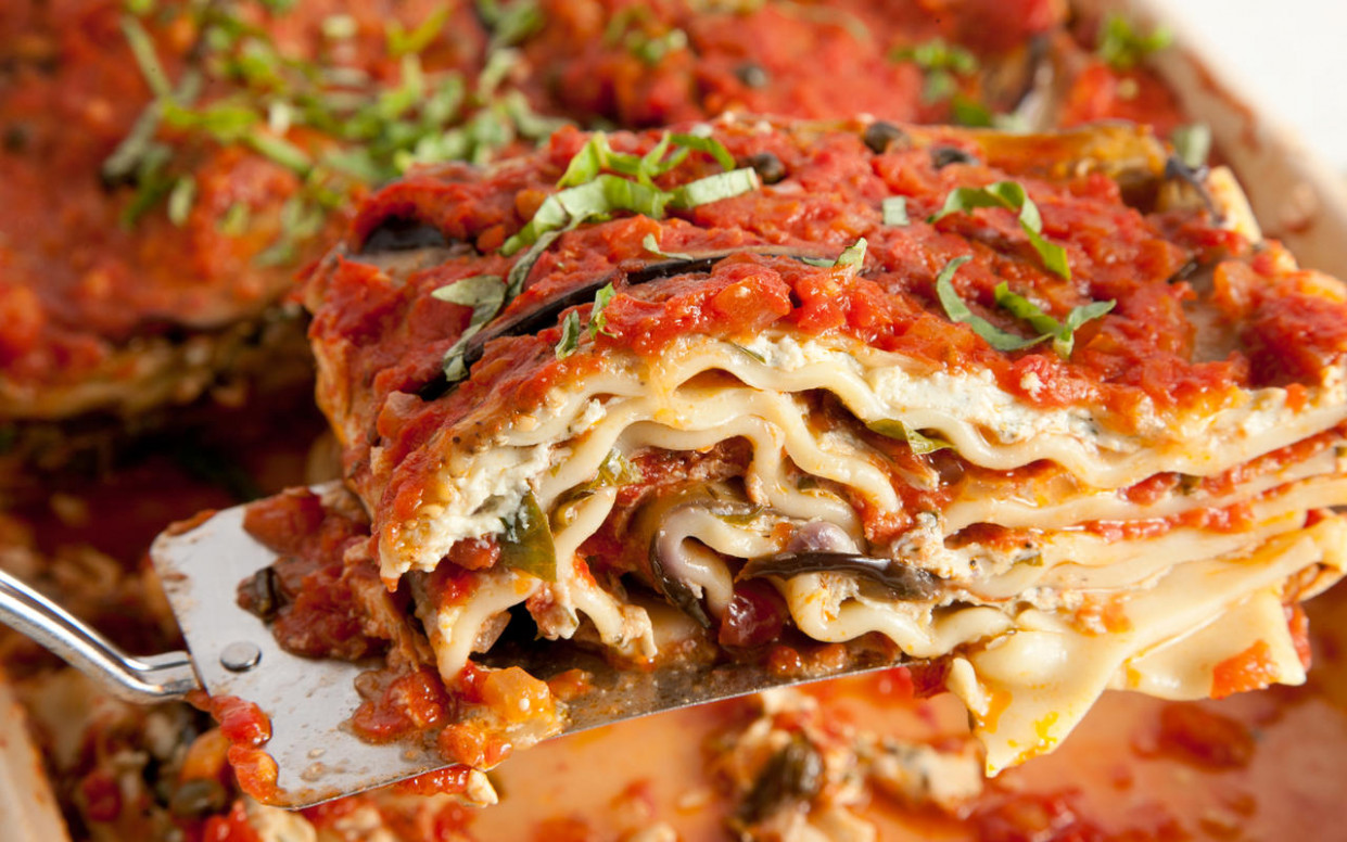 Vegan Lasagna Recipe - Chowhound - recipes for vegetarian lasagna