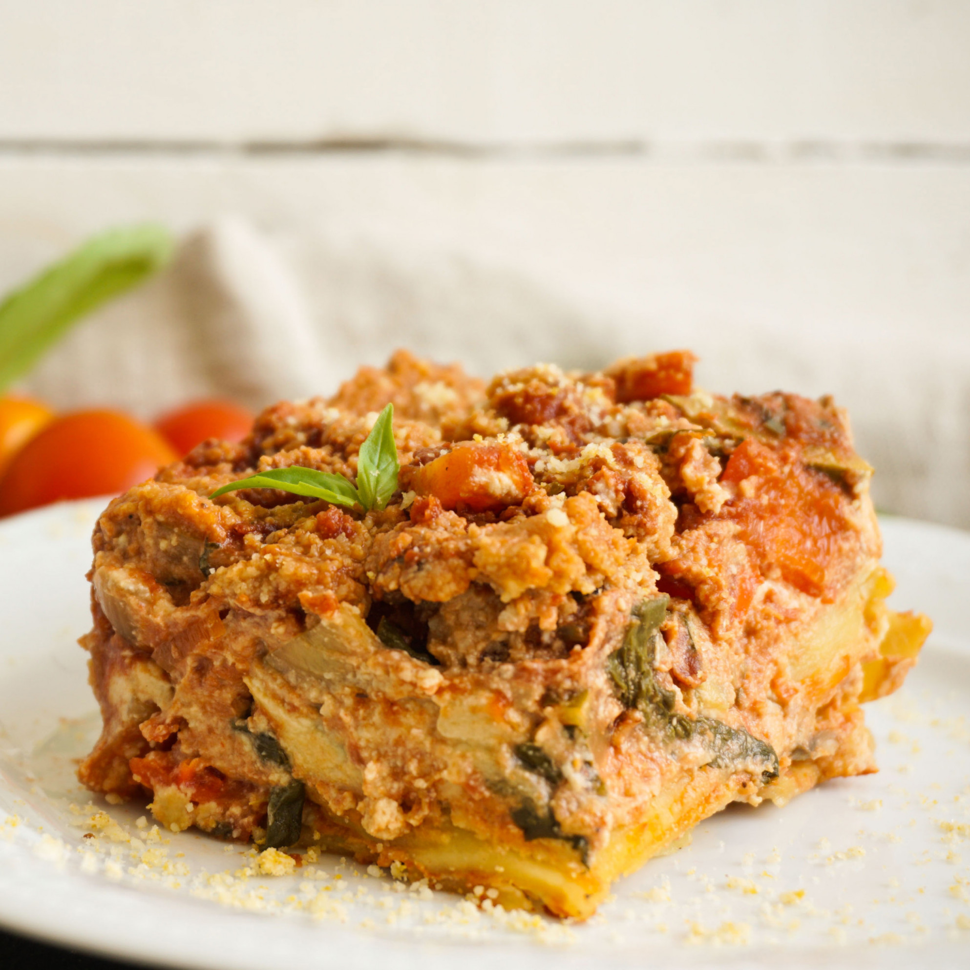 Vegan Lasagna - Recipes For Vegetarian Lasagna