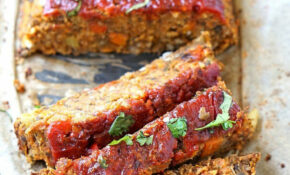 Vegan Lentil Loaf – Recipe Vegetarian Meatloaf