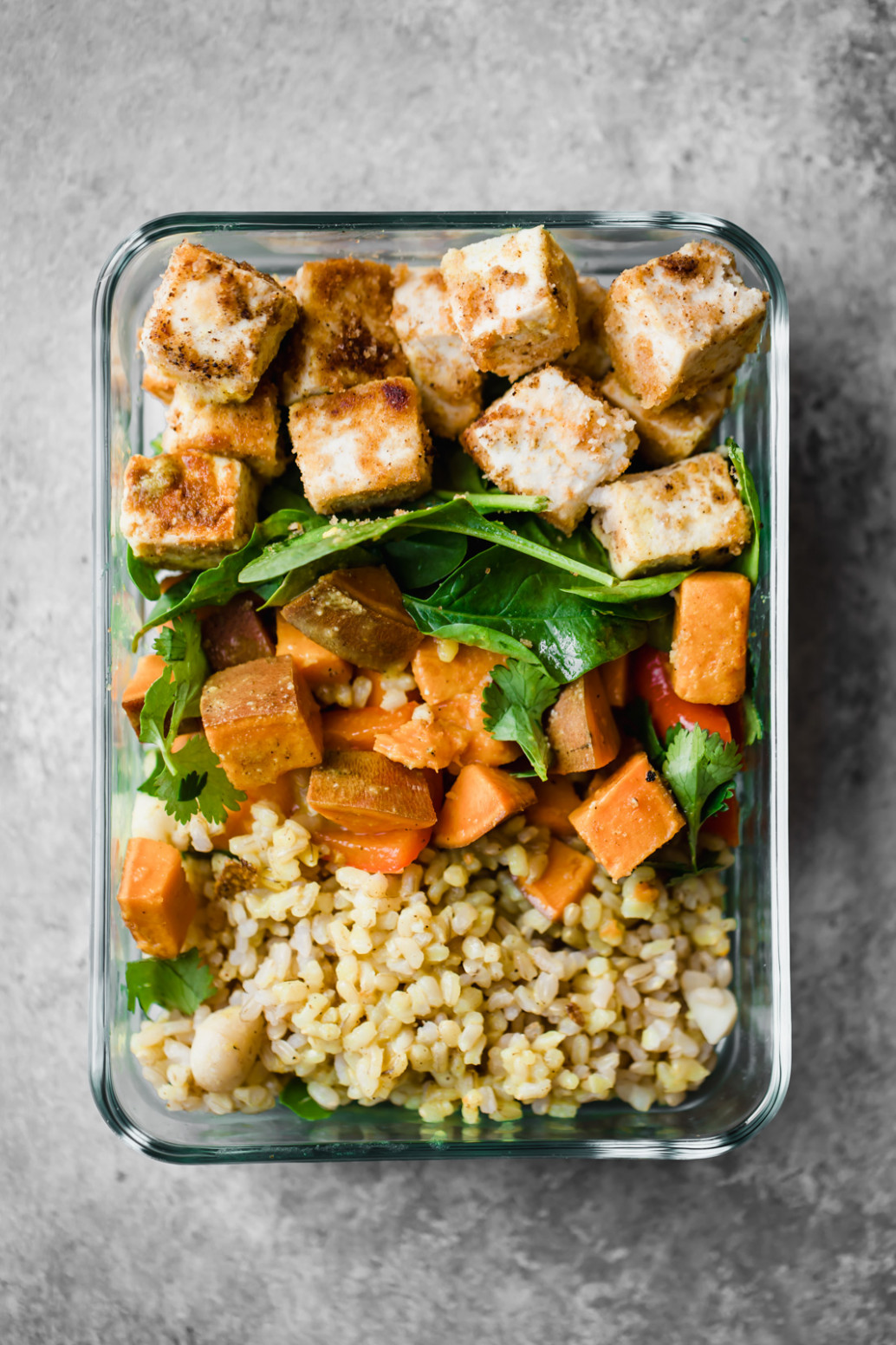 Vegan Macadamia Coconut Tofu Bowls | Ambitious Kitchen - Recipes Lunch Vegetarian