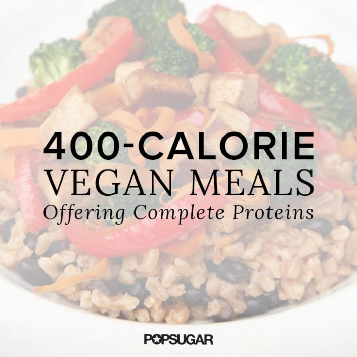 Vegan Meals Offering Complete Proteins Under 400 Calories ..