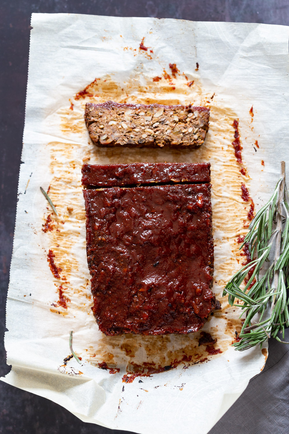 Vegan Meatloaf - Nut Loaf - Vegan Richa - Recipe Vegetarian Meatloaf