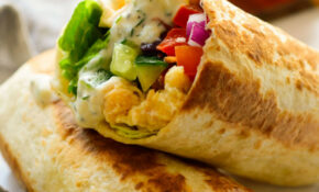 Vegan Mediterranean Wraps – Vegan Recipes Dinner Quick