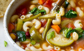 VEGAN MINESTRONE SOUP – Soup Recipes Vegan Healthy