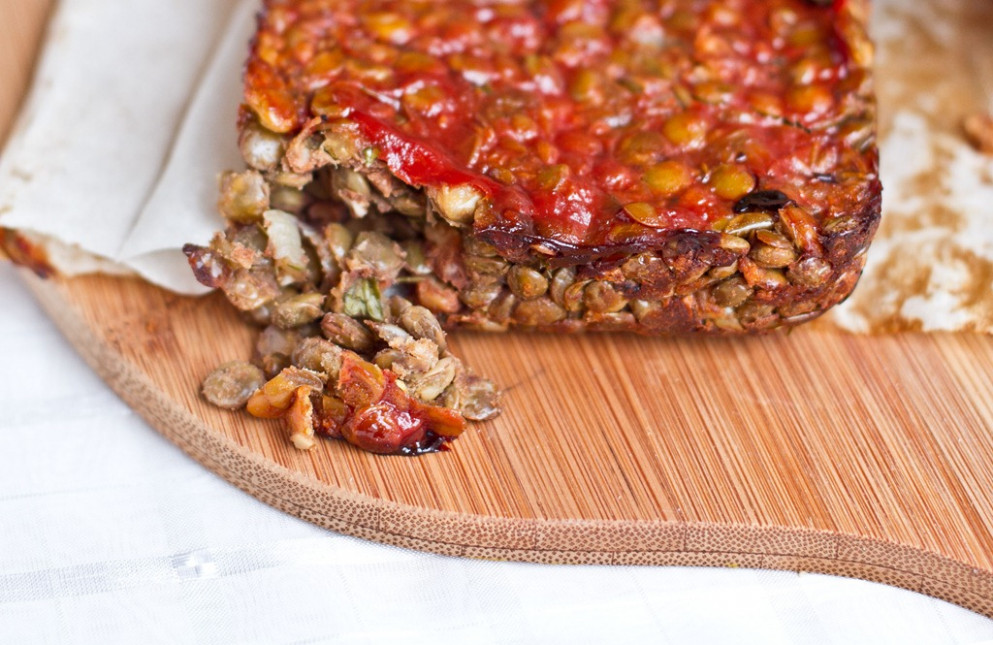 Vegan Nut Loaf - Recipe Vegetarian Nut Loaf