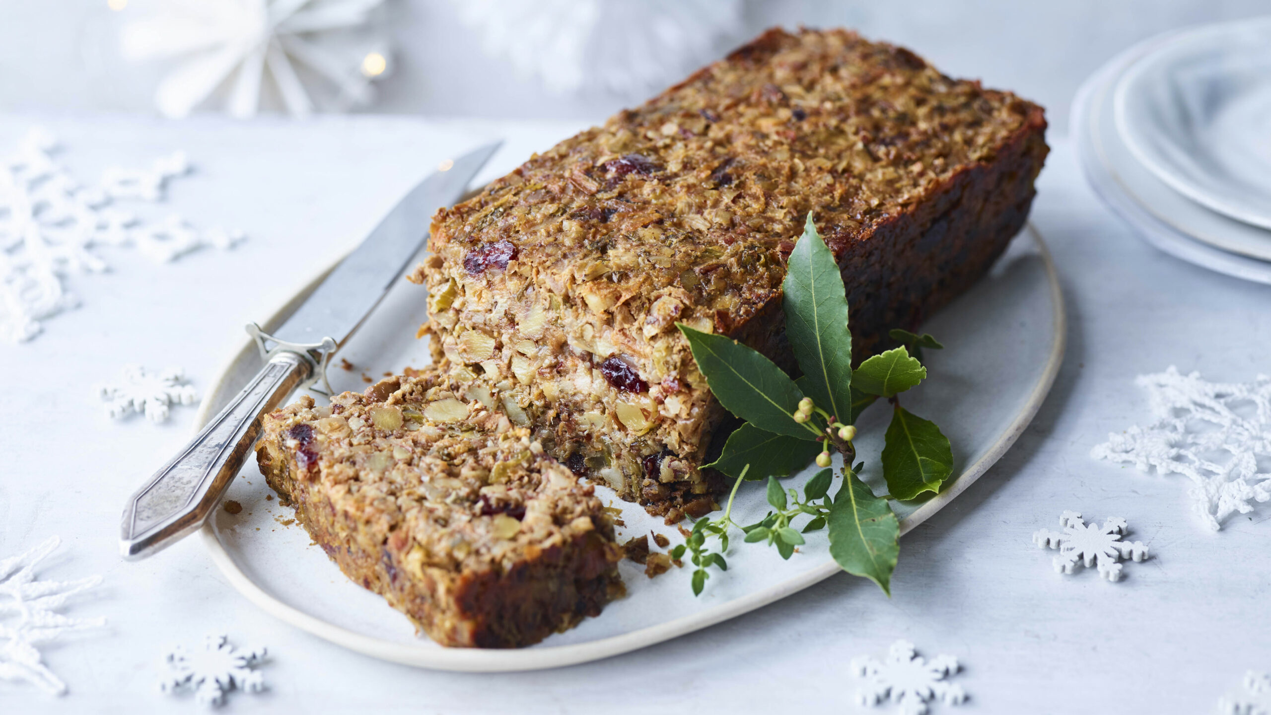 Vegan Nut Roast - Recipe Vegetarian Nut Loaf