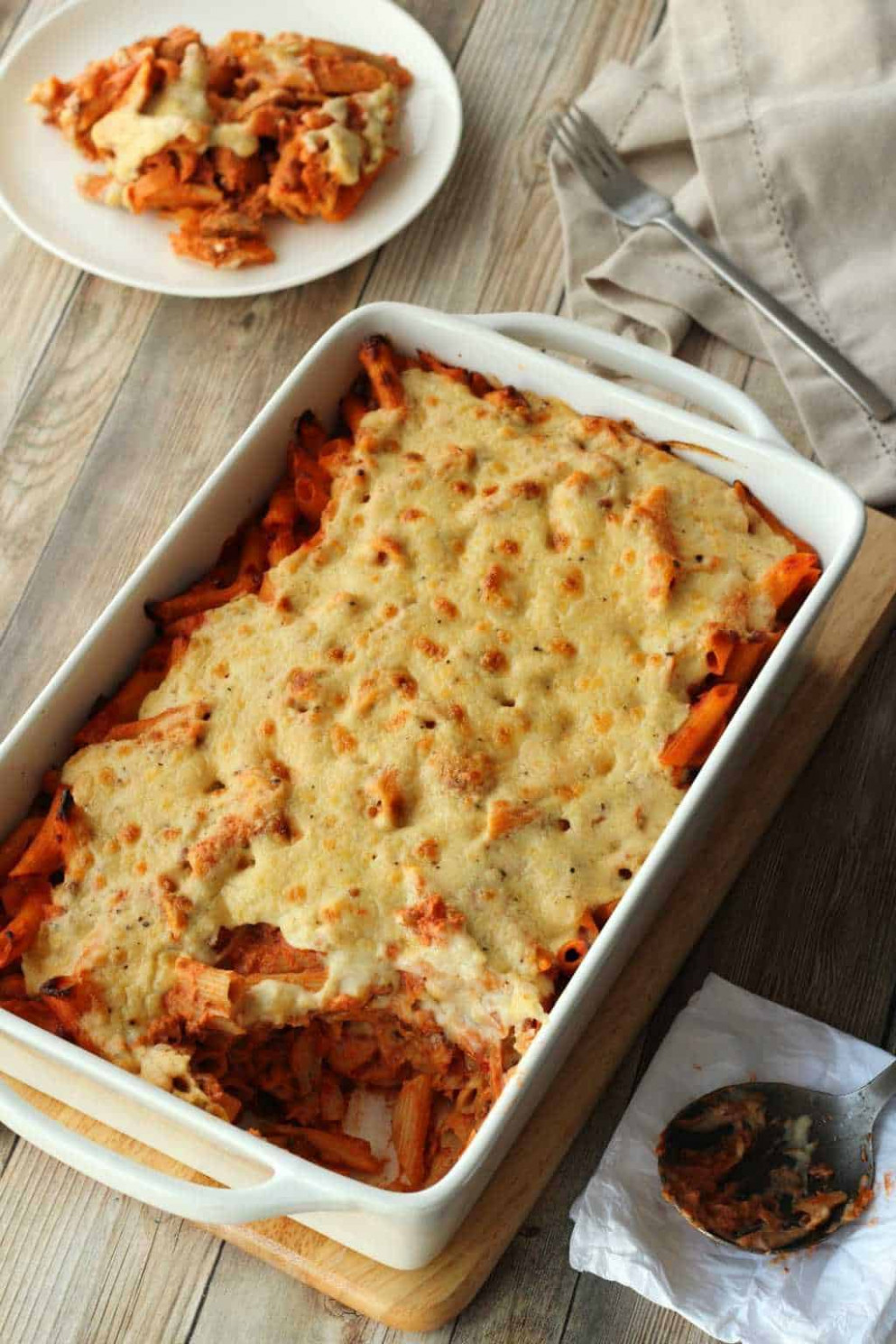 Vegan Pasta Bake - Rich And Creamy! - Loving It Vegan - Pasta Bake Recipes Vegetarian