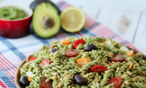 Vegan Pesto Gluten Free Pasta Salad | Healthy Summer Potluck Recipe – Recipes Vegetarian And Gluten Free