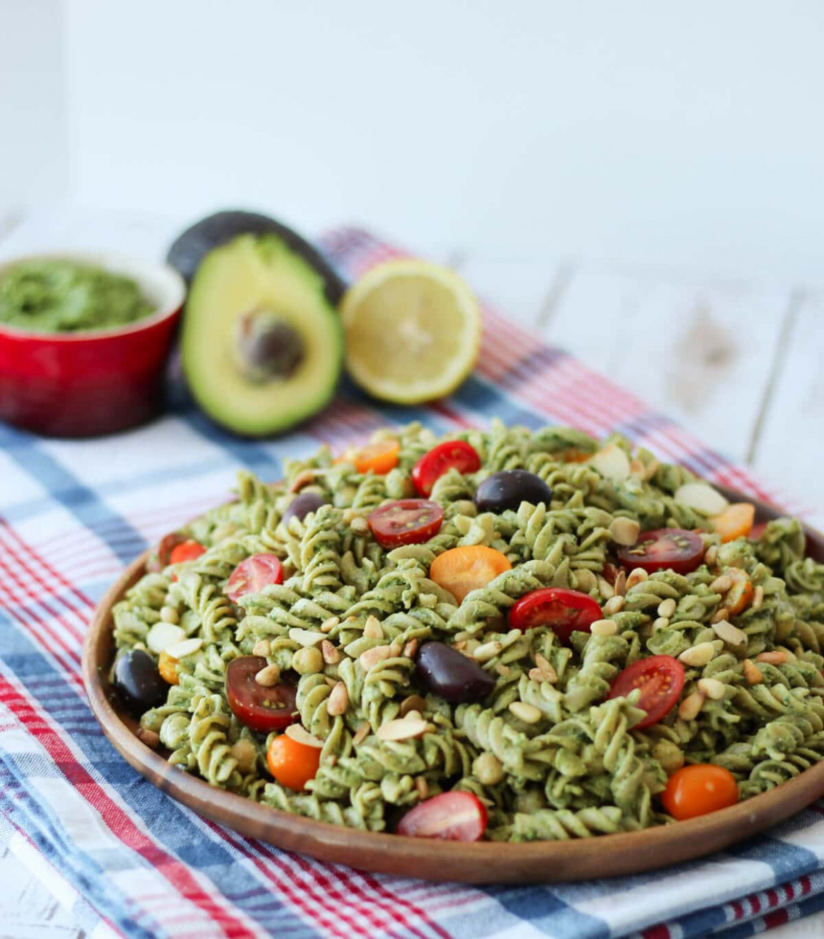 Vegan Pesto Gluten Free Pasta Salad | Healthy Summer Potluck Recipe - Recipes Vegetarian And Gluten Free