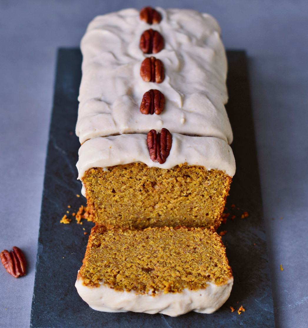 Vegan pumpkin cake - recipes canned pumpkin healthy