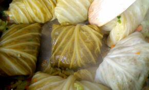 Vegan Recipes: Stuffed White Cabbage Leaves With Lentils – White Cabbage Recipes Vegetarian
