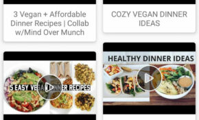 Vegan Recipes Video : Meals, Diet, Food, Dinner For Android ..
