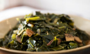 Vegan Southern Style Collard Greens With Mushrooms Recipe ..