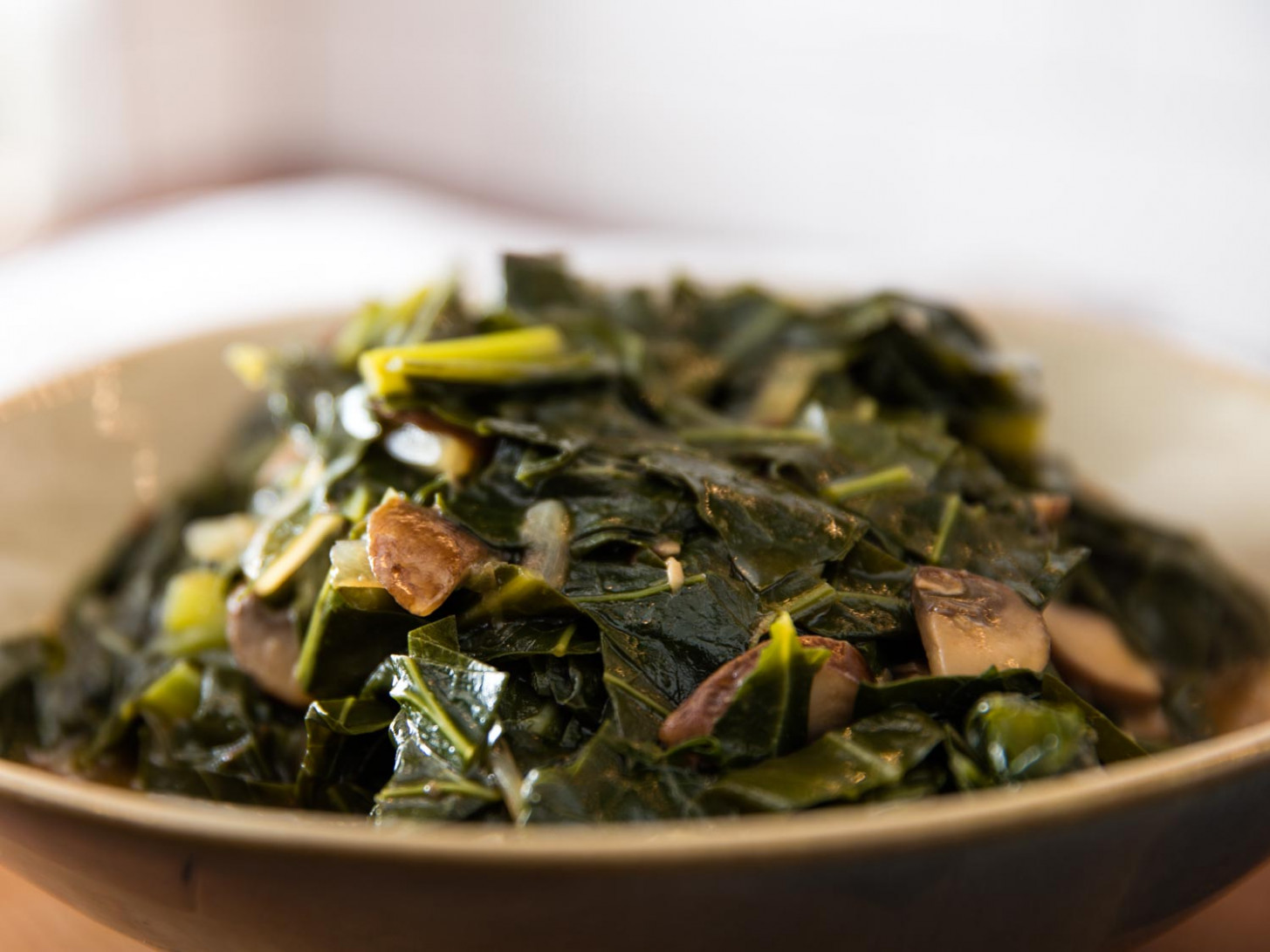 Vegan Southern-Style Collard Greens With Mushrooms Recipe ..