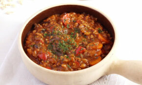 Vegan Soy Vegetable Stew – Recipe Vegetarian Goulash