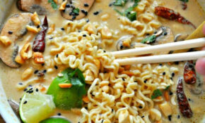 Vegan Spicy Thai Peanut Ramen – Food Recipes Spicy