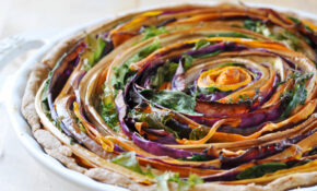 Vegan Spiral Vegetable Tart – Recipes Vegetarian Tarts