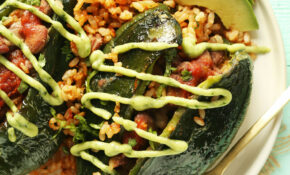 Vegan Stuffed Poblano Peppers – Mexican Dinner Recipes