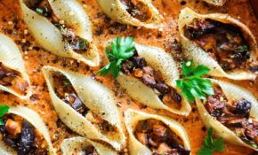 Vegan Stuffed Shell Pasta