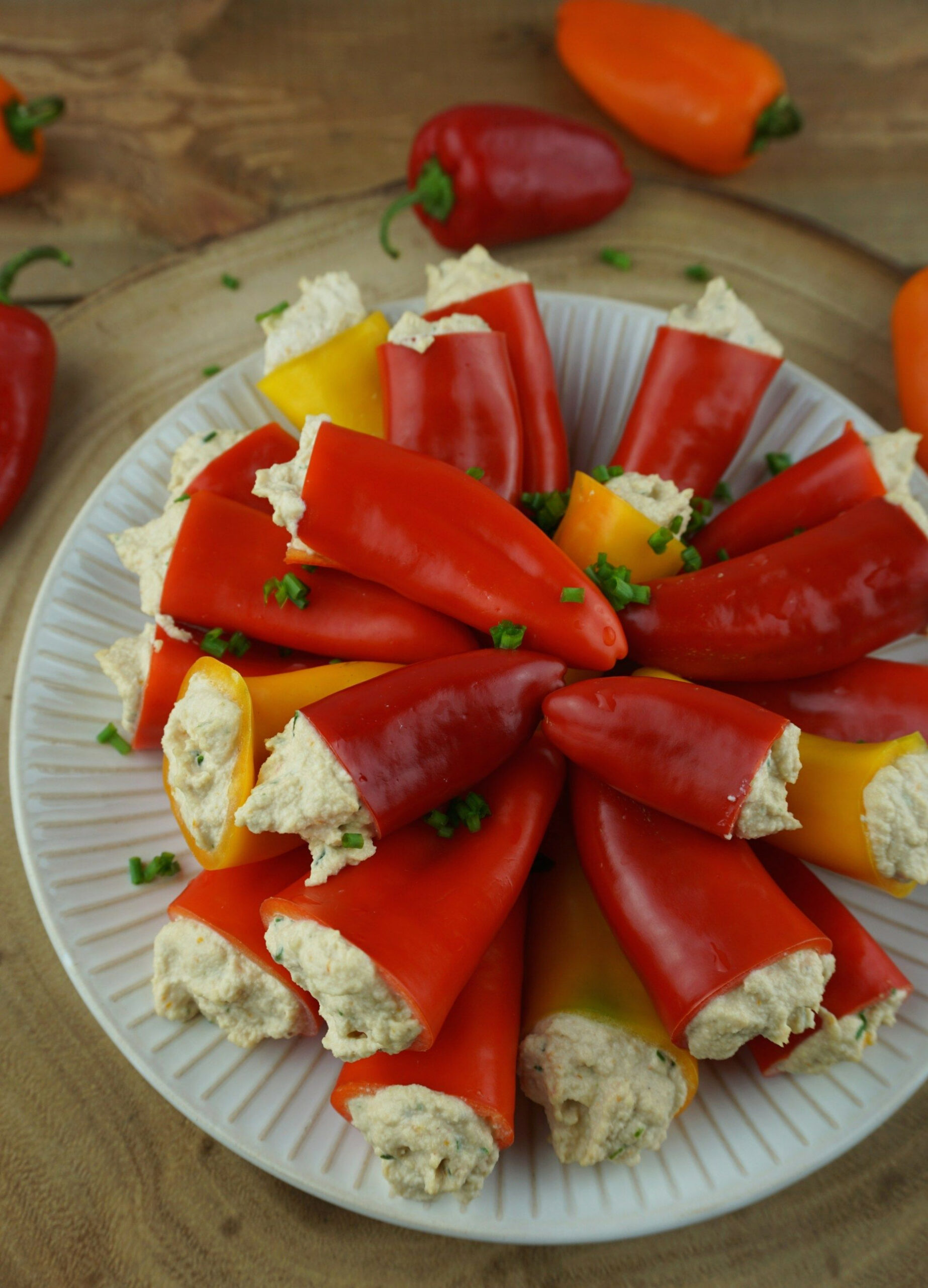 Vegan Stuffed Sweet Peppers - recipes stuffed peppers vegetarian