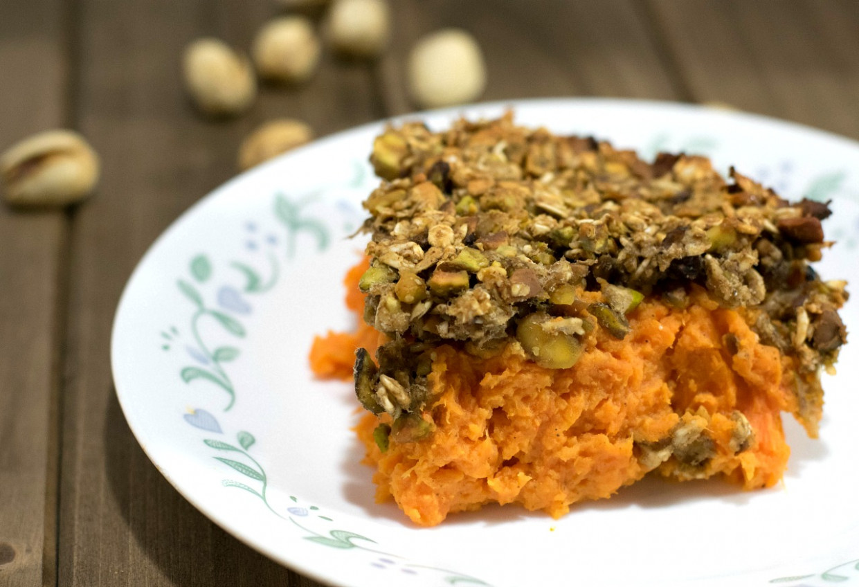 Vegan Sweet Potato Casserole - Sweet Potato Recipes Vegetarian