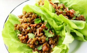 Vegan Thai Lettuce Cups With Green Split Peas – Half Cup Habit – Green Split Pea Recipes Vegetarian
