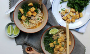 Vegan Udon Noodle Soup With Chilli Lime Roasted Tofu – Udon Recipes Vegetarian
