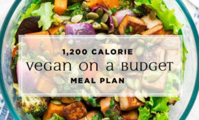 Vegan Weight Loss Meal Plan On A Budget | EatingWell – Weight Loss Recipes Dinner