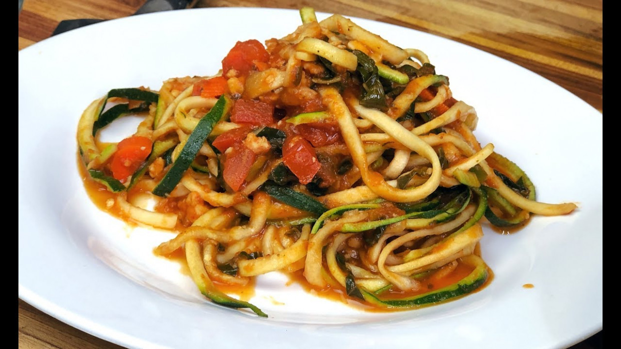 Vegan Zoodles - healthy recipe channel - healthy recipes zoodles