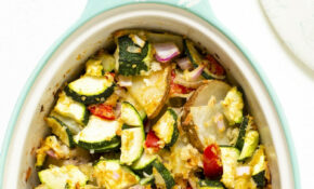 Vegan Zucchini Potato Casserole – Dinner Recipes On A Budget