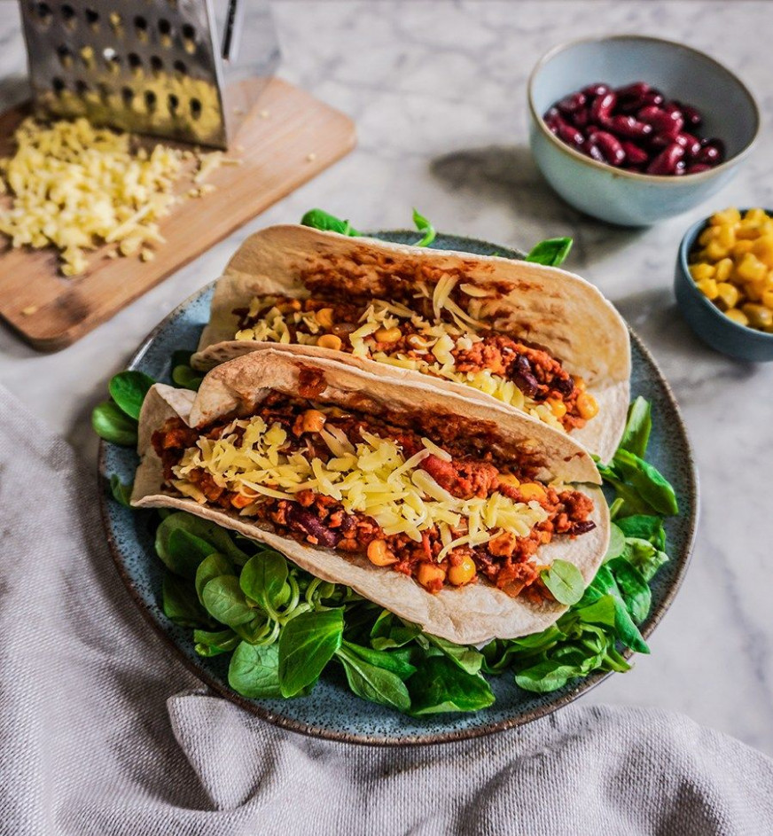 Vegane burrito füllung - mexican food recipes with pictures