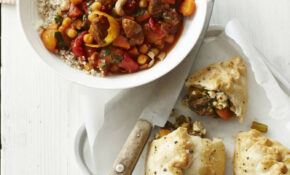 Vegetable And Chickpea Tagine With Couscous Recipe – Tagine Recipes Vegetarian