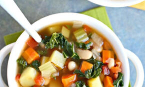 Vegetable Bean Soup (Oil Free) – Veggies Save The Day – Recipes Vegetarian Bean Soup