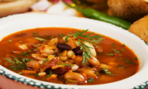 Vegetable & Bean Soup Recipe | How to Make Vegetable and ...