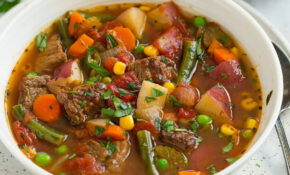Vegetable Beef Soup – Best Homemade Chicken Vegetable Soup Recipes
