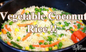 Vegetable Coconut Rice Sunday Dinner (Jamaican Cooking) | Recipes By Chef  Ricardo – Jamaican Recipes Vegetarian