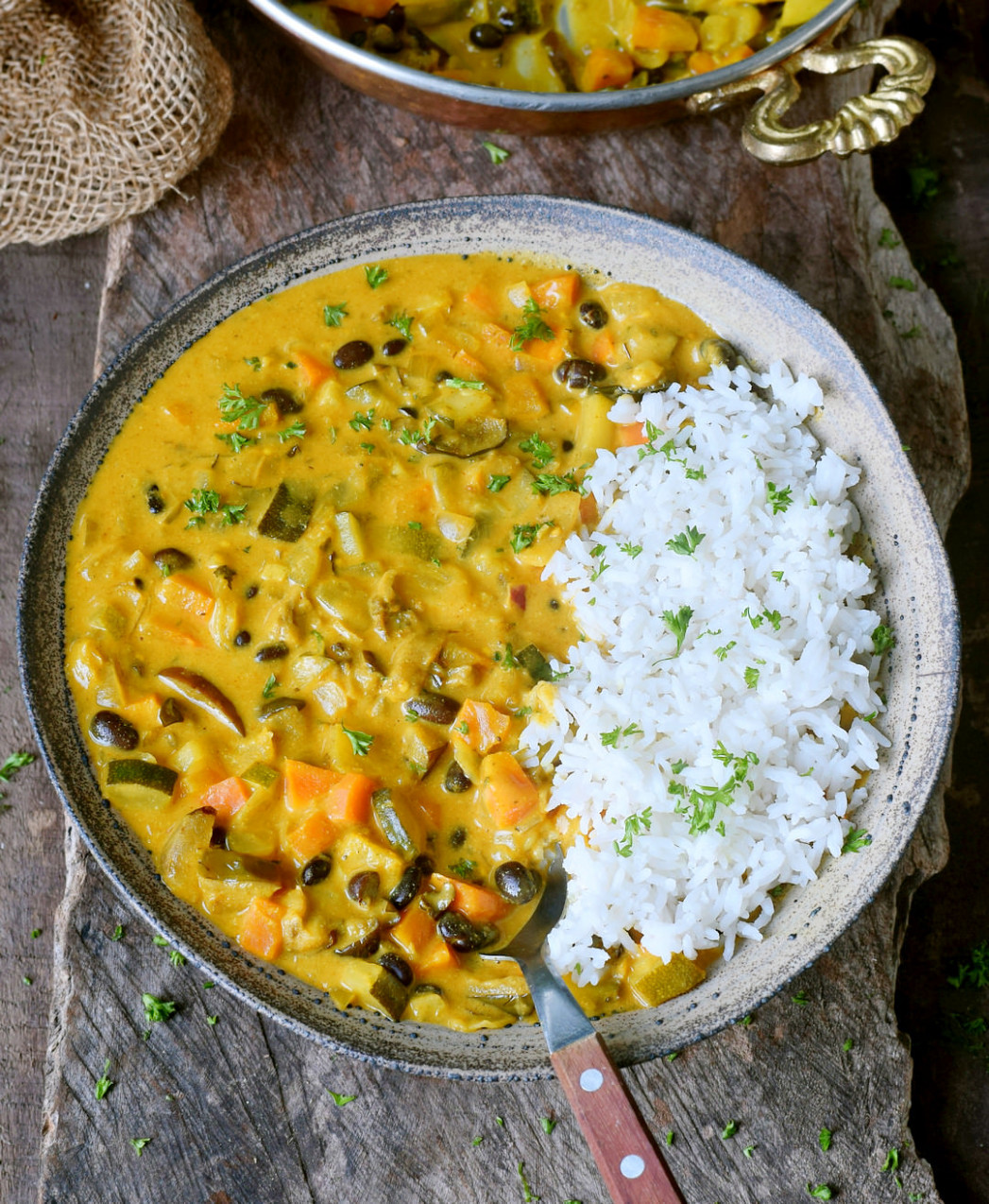 Vegetable curry - healthy recipes veggies
