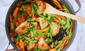 Vegetable Dumplings Stir Fry – Recipe Vegetarian Dumplings