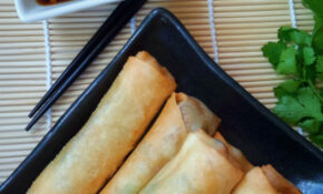Vegetable Egg Rolls | Cilantro And Citronella – Recipe Vegetarian Egg Rolls