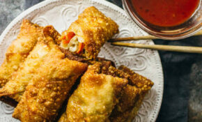 Vegetable Egg Rolls Recipe – Savory Tooth – Recipe Vegetarian Egg Rolls