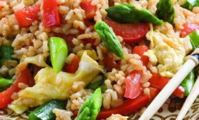 Vegetable Fried Rice Recipe – EatingWell – Vegetarian Recipes With Rice And Vegetables
