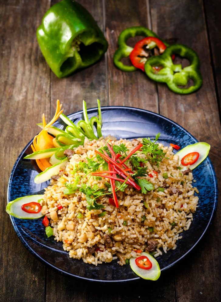 Vegetable Fried Rice recipe - fried rice recipes chicken
