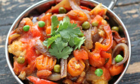 Vegetable Jalfrezi – Smoky Tangy Veggie Stir Fry. Vegan ..