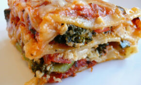Vegetable Lasagna | Feeding My Folks – Recipes Vegetarian Lasagne