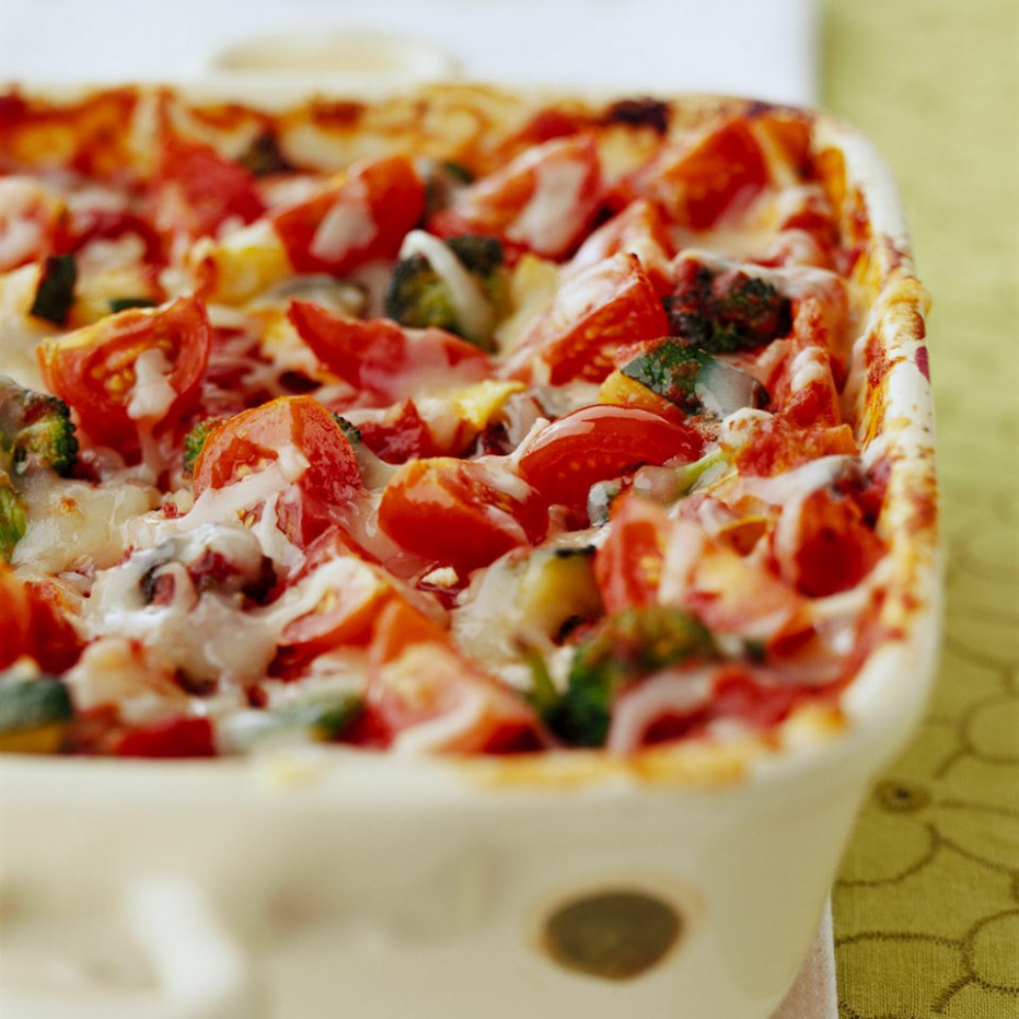 Vegetable Lasagna Recipe - EatingWell - healthy recipes ricotta cheese